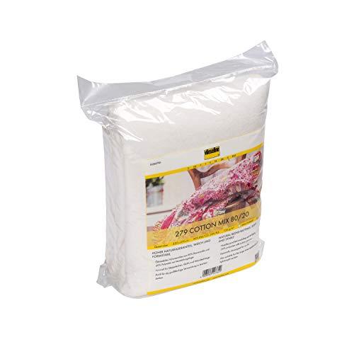 Vlieseline 279 Cotton Mix Queen Size SB, 80% CO, 20% PES + PP Scrim, Natur, 220 cm x 270 cm