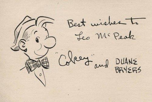 Duane Bryers - Inscribed Original Art Signed