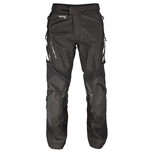 Klim Badlands Pro Motorrad Textilhose Schwarz Lang 38