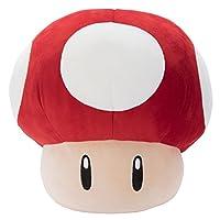マリオカート Mocchi-Mocchi-Game style ダッシュキノコ ぬいぐるみ 高さ約33cm