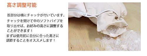 女性専用ストレートネック枕癒されネックフィット枕(癒されネックフィット枕【香り付き】専用枕カバー付セット(もちもちナイロン))