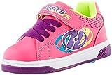 Heelys Swerve X2 - Zapatos de tacón con Ruedas, Color Rosa y Multicolor