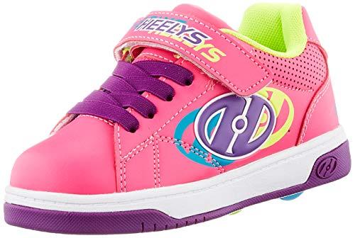Heelys Swerve X2, Zapatos con Ruedas, Rosa Hot Multi, 33 EU