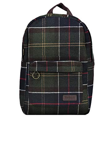 Barbour BACC1565 TN11 Carrbridge Backpack Zaino Uomo Iconic Tartan Scozzese Lana