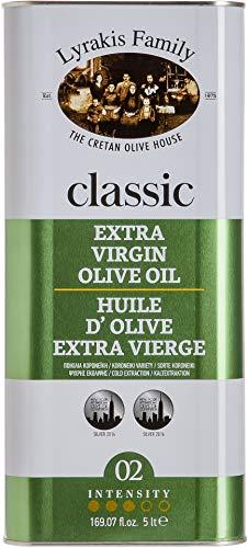 \'Lyrakis Family seit 1975\' Olivenöl 5 Liter Extra Vergine-Kaltgepresst aus Kreta-Griechenland |Extra Nativ|PREMIUM|