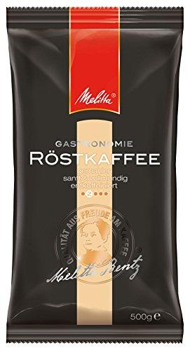 Melitta Röstkaffee, Gemahlener Filterkaffee entkoffeiniert, 100 % Arabica, Filterkaffee, Sanft mit fruchtiger Note, Milder Röstgrad, 5 x 500 g