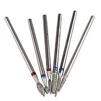 ネイル用研削ヘッド 電動ネイルファイル ネイルドリルビット ツール 道具 11サイズ選択 - #2