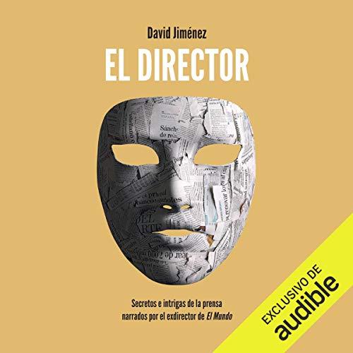 Diseño de la portada del título El director