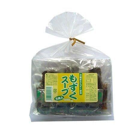 エメラルドの海の香り!沖縄産もずくスープ1袋(5食入り)×10袋