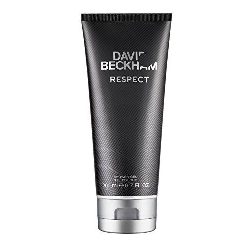 David Beckham RESPECT Shower Gel – Duschgel mit holzig-aromatischem Herrenduft und maskulinem Charakter – 1er Pack (1 x 200 ml)