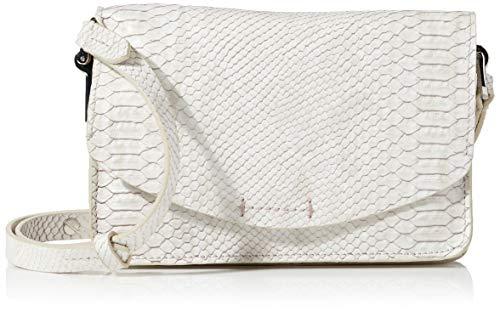Clarks Damen Marva Wave Umhängetasche, Weiß (White Snake), 1x1x1 cm
