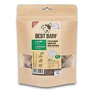 BEST BARF Freeze Dried Lamb Liver 100% Single Ingredient Natural Dog Treats   Grain Free Liver Train...