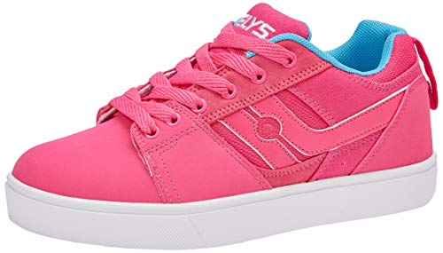 Heelys Women's Racer Trainers, Pink (Hot Pink/Light Blue Hot Pink/Light Blue), 4 (36.5 EU)
