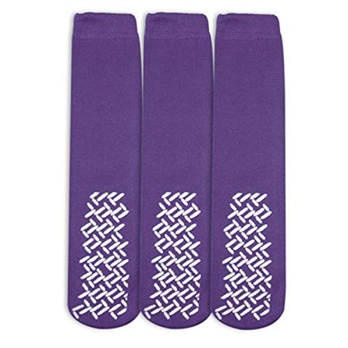 Personal Touch Top of the Line Hospital Non Skid Slipper Socks, Ladies or Men
