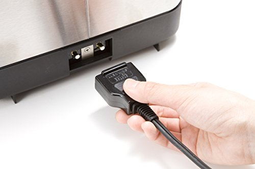 電気コードが「マグネットプラグ」になっているかも重視したいポイント。  万が一電気コードに手足をひっかけても、本体が倒れないので安心です。お子さんがいるご家庭はとくに、この安全機能をおすすめします。