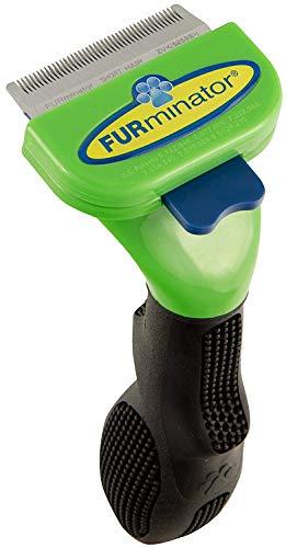 FURminator deShedding-Tool Hund Größe S - Hundebürste für kleine Hunde zur Entfernung der Unterwolle, Kurzhaar-Variante, Version 1.0