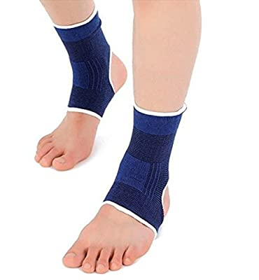 Compression Ankle Brace-Ankle Support-Plantar Fasciitis Sock, Copper Infused Arch Support Sleeve Night Splint for Pain Relief for Running, Basketball and More(1 pair)