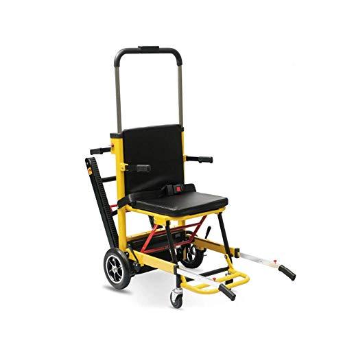 Y-L Elektrische klimrolstoel, voor senioren, exclusieve lichtgewicht opvouwbare elektrische rolstoel, constructie van aluminium voor lucht- en ruimtevaart, zware uitvoering