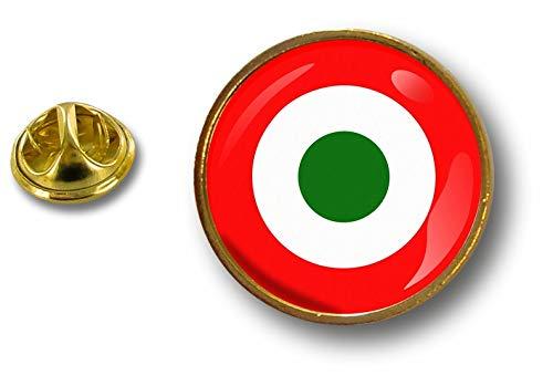 Akacha Spilla Pin pin's Spille Bandiera Badge Air Force Aeronautica Italia