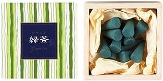 nippon kodo Kayuragi - Green Tea 12 Cones, Japanese Quality Incense