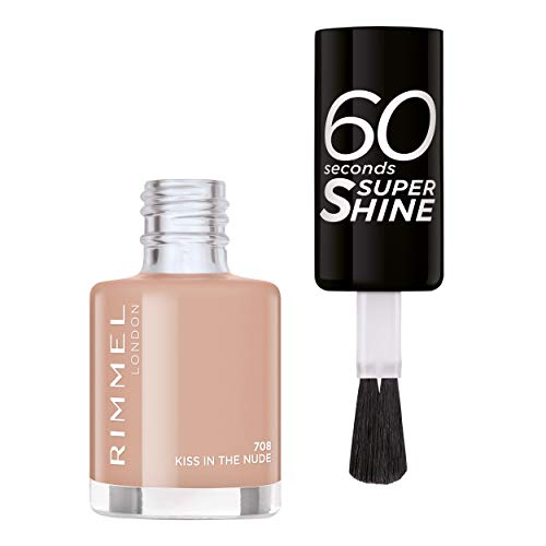 Rimmel - Vernis à Ongles 60 Seconds Super Shine Colour Block - Ultra Brillance et Longue...