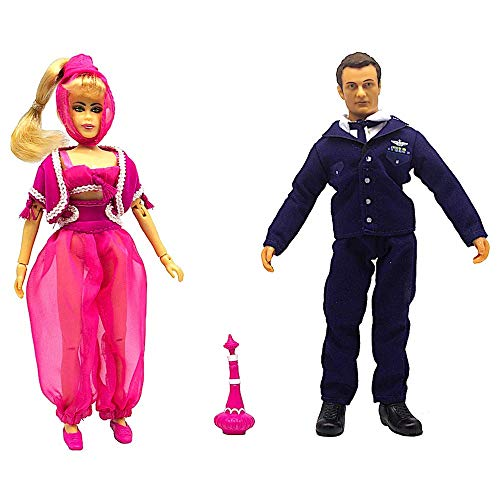 Mego 2018 Classic 8 Action Figure Box Set - Limited Edition - I Dream Of Jeannie & Major Tony Nelson Action Figures