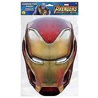Iron Man Card Mask Infinity War 100% Papier