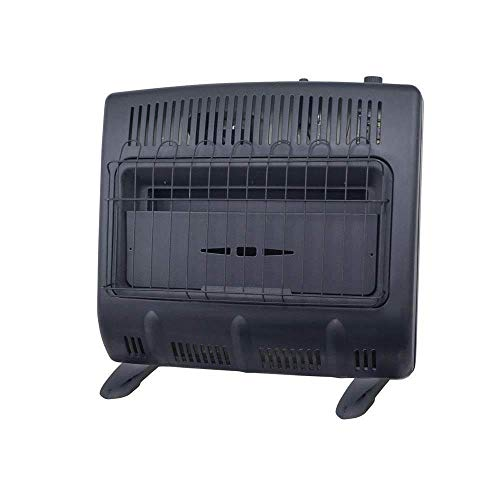 Mr. Heater Vent-Free 30,000 BTU Natural Gas Garage Heater - Black Multi