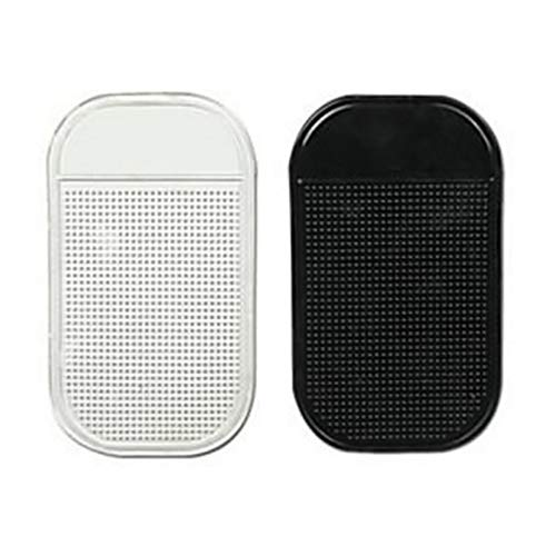 INSEET 1PCS Auto Telefon Anti-Rutsch-Pads Anti-Rutsch-Matte Hält Handys Sonnenbrillen Münzen, Transparente Farbe