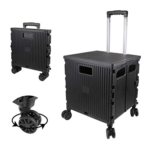 Olympia Tools Grand Rolling Collapsible Storage Utility cart with...