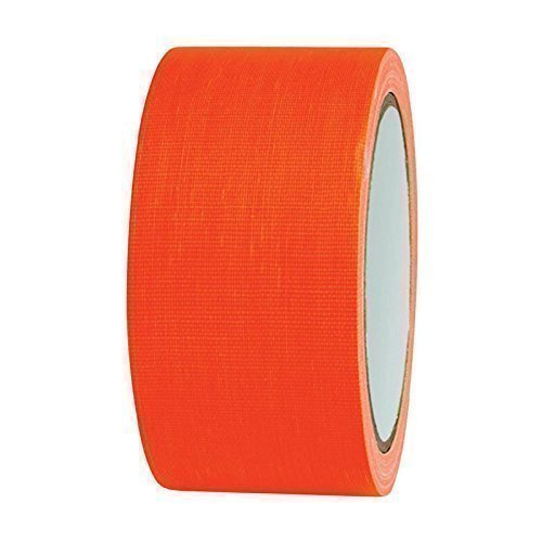 NEON Gaffa Tape Klebeband UV-aktiv 50mm x 25m orange
