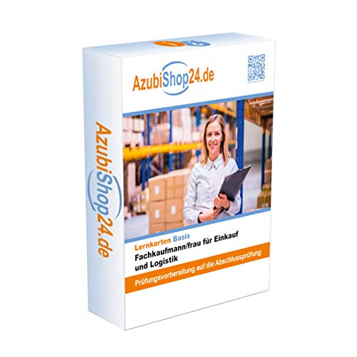 Fachkaufmann /frau für Einkauf und Logistik E-Book, Lernmittel, Prüfung: Fachkaufmann /frau für Einkauf und Logistik Prüfungsvorbereitung, Lernkarten