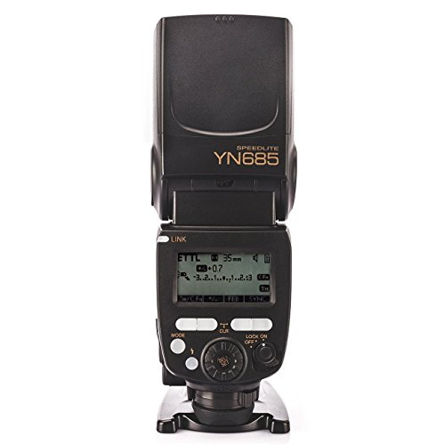 Yongnuo YN685 Speedlight Camera Flash per Nikon DSLR con WINGONEER Diffusore