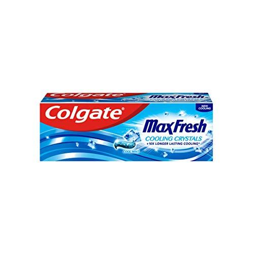 Colgate Max Fresh Cooling Crystals Zahnpasta, Probiergröße und Reisegröße, 1er Pack (1 x 20 ml)