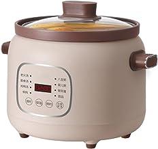 Elektrische stoofpot keramische liner slow cooker huishoudelijke multifunctionele kookpan met 24-uurs vertragingstimer en ...