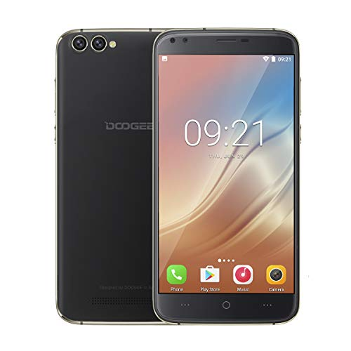 "Doogee X30 5.5"" Doppia SIM 2GB 16GB 3360mAh Nero"