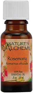 Nature's Alchemy 100% Pure Essential Oil Rosemary, 0.5 Fluid Ounce