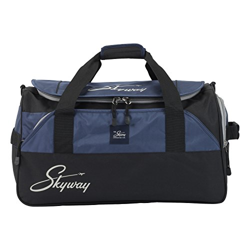Skyway Unisex-Adult Sodo 22-inch Carry-on Duffel Bag, Navy Blue, One size