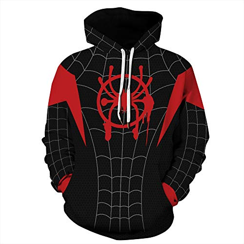 KKJKK Disfraz de Spiderman Disfraz Unisex Adultos Niños Lycra Anime Masquerade Onesies Trajes de Cosplay Disfraz de Halloween Carnaval Cosplay Disfraces de Cosplay Traje(Size:4XL)