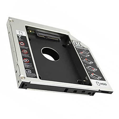SOLUSTRE HDD SSD Caddy Adaptador 12 Bandeja de Caddy del Disco Duro de 7Mm para La Unidad Óptica del Ordenador Portátil