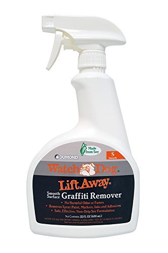Dumond Chemicals, Inc. 8216N Watch Dog Lift Away Soy-Based Smooth Surface Graffiti Remover, 22 Ounce