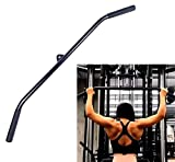 BXUFEI LAT Pull Down Bar Cable Machine with Rubber Handle,Press Down Bar Trolley Rowing Exerciser...
