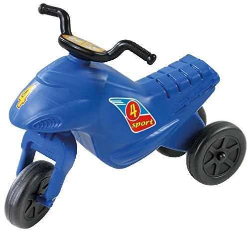Dohany Rutscher Motorrad Fahrzeug 4 Mini Kinder Laufrad Lauflernrad (blau)