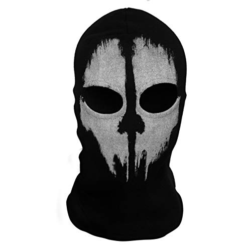 HIPENGYANBAIHU Ghost Skull Máscaras integrales Punisher Mask Skeleton Hats