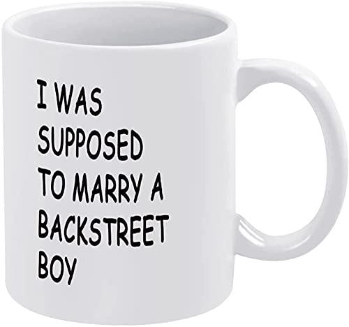 Foto personalizada Diy Novedad Divertida Estética Taza de café de cerámica blanca Taza de té Regalo con refranes Se suponía que me casaría con un chico de la calle para mamá, papá, hombres, mujeres, m
