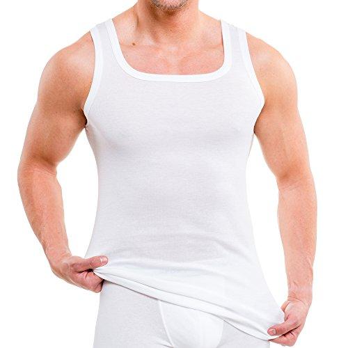 HERMKO 93015 2-pak heren onderhemd van biologisch katoen