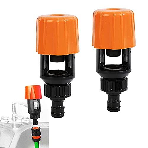 Adaptador universal para grifo,Conector de Tubo Grifo de Agua,Juego de Conectores de Manguera,Universal Adaptador de Grifo, para Jardines y Agricultura Accesorios de riego