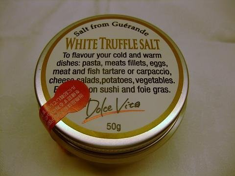 最高級 イタリア産 白トリュフ塩(トリュフソルト) 50g フランスゲランド塩を使用