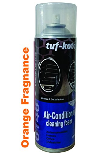 Tufkote TufSeal 6146 Air Conditioner Cleaner and Disinfectant Foam with Orange Fragrance (500ml, 4)