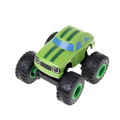 wuzhou Blaze Machines vehículo de Juguete Coches de Carreras camión transformación Juguetes Regalos para niños Verde Oscuro